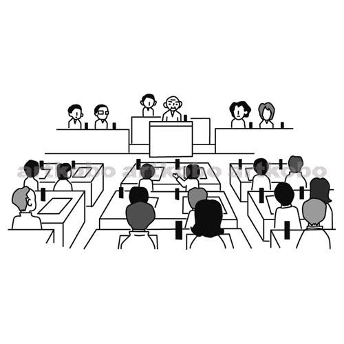 Web教材イラスト図版工房 / S_地方自治における法の制定(3)
