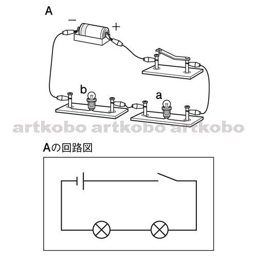 図 豆 電球 回路
